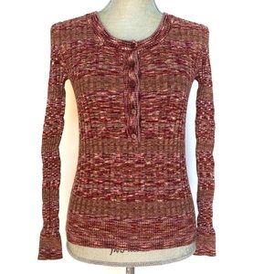 Moda International Multicolored Sweater, size S